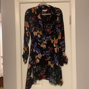 Parker Long Sleeve Floral Dress